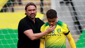 Norwich manager Daniel Farke, left, is ready for the challenge of life in the Sky Bet Championship (Ian Walton/NMC Pool)