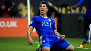 Leicester's Leonardo Ulloa claimed the winner in a 1-0 victory over Norwich