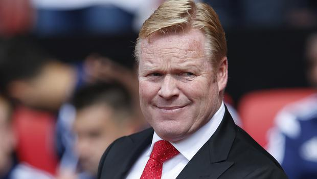 Southampton manager Ronald Koeman is relishing the challenge of a tough run of fixtures
