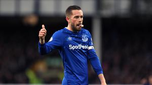 Gylfi Sigurdsson admits he thought Carlo Ancelotti may have been joking when suggesting a change of position (Richard Sellers/PA)