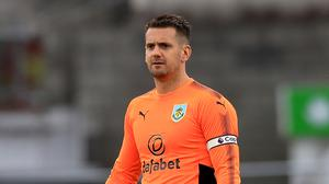 Burnley goalkeeper Tom Heaton is ready for fight for an England place this season