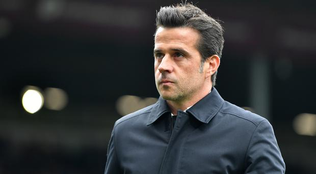 Marco Silva had another difficult afternoon at Turf Moor (Anthony Devlin/PA)