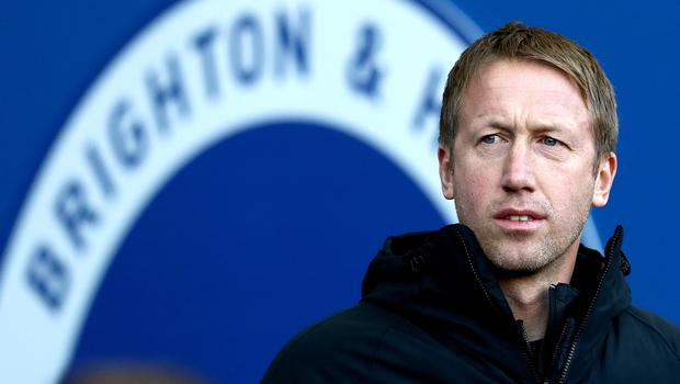 Graham Potter's Brighton side have won just one of their last seven league games (Gareth Fuller/PA)