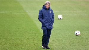 Manuel Pellegrini is under pressure after Manchester City's Champions League exit