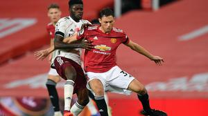 Nemanja Matic believes Manchester United showed their title credentials in the 1-0 win at Burnley (Paul Ellis/PA Images).