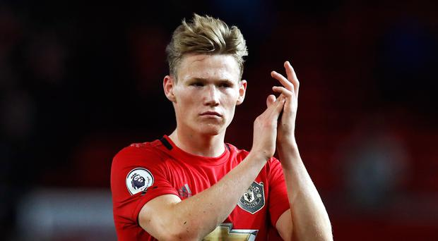 Manchester United's Scott McTominay wants trophies to go with personal accolades (Martin Rickett/PA)
