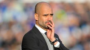 Manchester City manager Pep Guardiola hopes to add to his squad this month