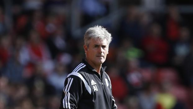 West Brom boss Alan Irvine has revealed his gameplan to beat Arsenal as he looks to follow Louis van Gaal's lead.