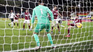 Robbie Brady failed to clear off the line as Fulham's Ola Aina (second right) scored the opening goal (Carl Recine/PA)