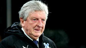 Roy Hodgson's Crystal Palace side have lost their last four games (Nigel French/PA)
