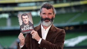 Roy Keane was not impressed by Jose Mourinho trying to shake hands before the match was over