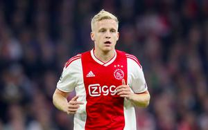 Donny Van De Beek has been Manchester United's only arrival so far this summer (Adam Davy/PA)