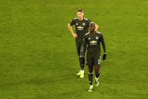 United exited the Champions League after defeat in Leipzig in midweek (Matthias Schrader/AP)