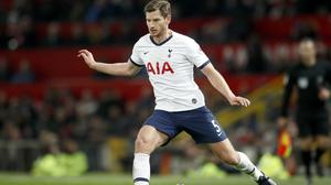 Tottenham's Jan Vertonghen is out of contract in the summer (Martin Rickett/PA)