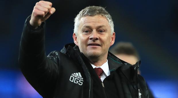 Manchester United manager Ole Gunnar Solskjaer was delighted with the victory over Manchester City (Mike Egerton/PA)