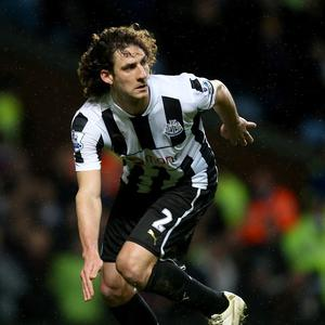 Fabricio Coloccini is closing in on a return to action following a back problem