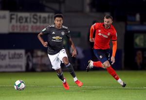 Lingard has made just two Carabao Cup appearances this season (Nick Potts/PA)