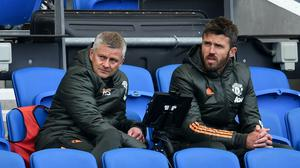 Manchester United manager Ole Gunnar Solskjaer (left) admitted his side were not at their best (Glyn Kirk/PA)