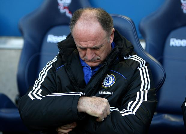Luiz Felipe Scolari's time in charge did not go as planned (Dave Thompson/PA)