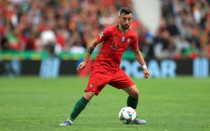 Bruno Fernandes was part of the Portugal side that won the Nations League (Mike Egerton/PA)