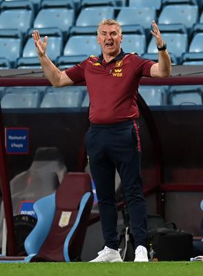 Dean Smith knows Villa's fate is in their own hands (PA)