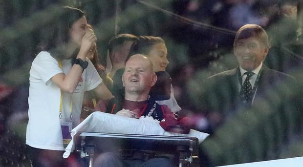 Liverpool Sean Cox will return to Anfield this weekend for the first time since being attacked by Roma fans at the ground in April 2018 (Brian Lawless/PA)