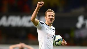 Tottenham's Harry Kane is the Premier League's joint top-scorer this season with 19 goals