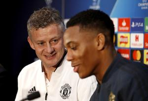 Ole Gunnar Solskjaer, left, will be hoping he can call on Anthony Martial (Martin Rickett/PA)