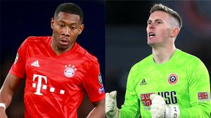 David Alaba and Dean Henderson feature in today's transfer rumours (Adam Davy/Mike Egerton/PA)