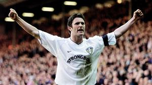 Former Leeds striker Robbie Keane is confident the club will thrive in the Premier League (Gareth Copley/PA)