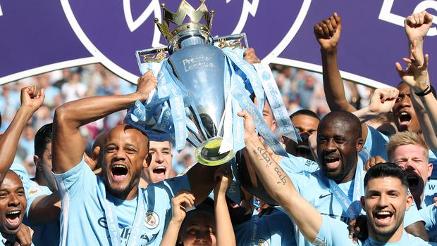 Manchester City's title-winners have made history
