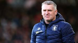 Aston Villa manager Dean Smith has wanted to use cryo therapy (Mark Kerton/PA)