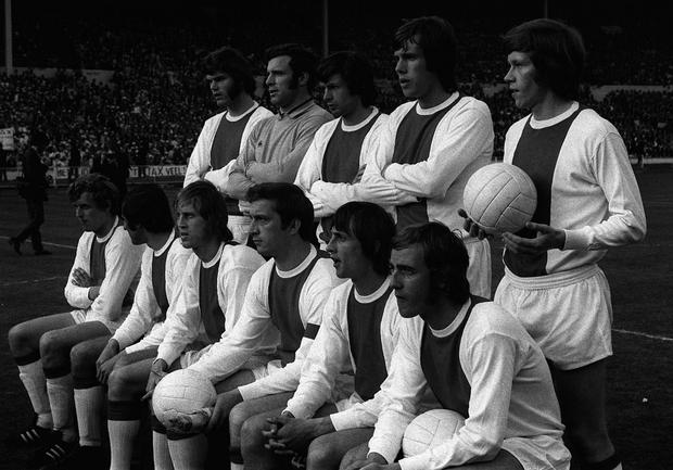 Johan Cruyff's Ajax dominated Dutch and European football in the early 1970s (PA)