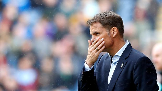 Frank De Boer's stay at Crystal Palace was a short one