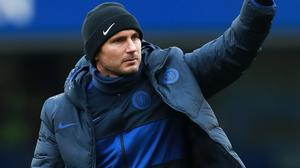 Frank Lampard gave the thumbs up for Chelsea training to be cancelled on Thursday so the club's training base could be cleaned (Adam Davy/PA)