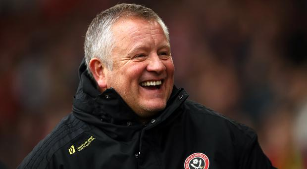 Sheffield United manager Chris Wilder has signed a new four-and-a-half year deal (Tim Goode/PA).