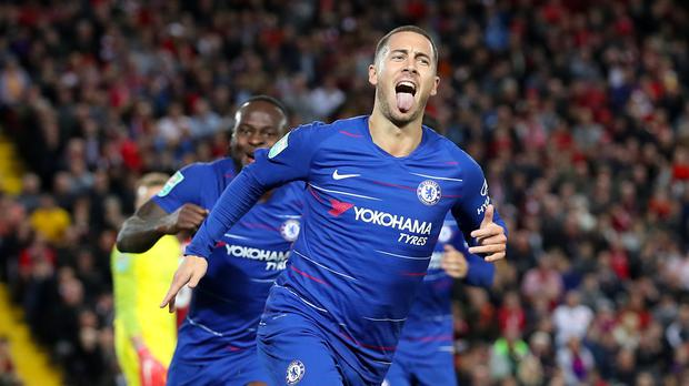 There is more to come from Eden Hazard, according to his manager (Martin Rickett/PA)