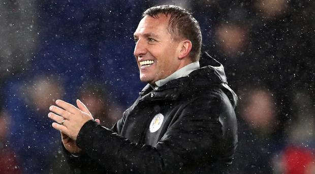 Leicester manager Brendan Rodgers has signed a new contract.