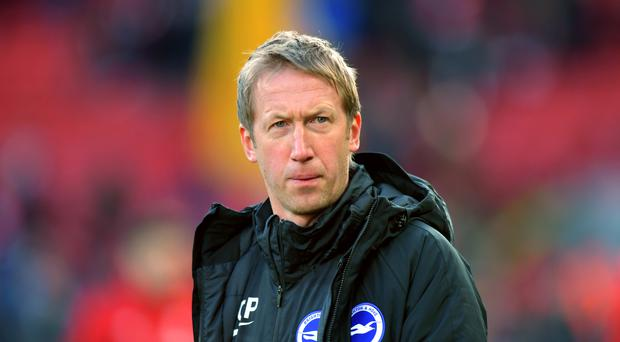 "Graham Potter has said ""bah humbug"" to Christmas, (Anthony Devlin/PA)"