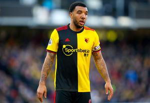 Watford captain Troy Deeney will not return to training in order to protect his family (Nigel French/PA)
