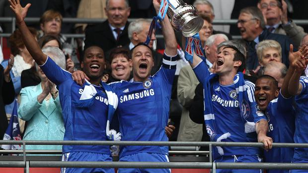 Terry won the FA Cup five times at Chelsea (Nick Potts/PA)