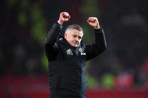 Powering on: Ole Gunnar Solskjaer is confident United will do required business when possible