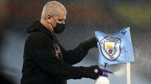 More positive Covid-19 tests at Manchester City forced the postponement of their Premier League match at Everton on Monday (Martin Rickett/PA)