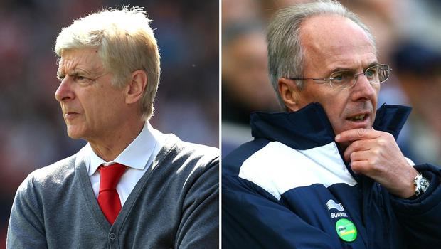 Aersene Wenger and Sven-Goran Eriksson could be getting a call from Freddie Ljungberg (Mike Egerton/PA)