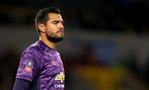 Argentina international Sergio Romero had played in every round of the FA Cup until Sunday (David Davies/PA)