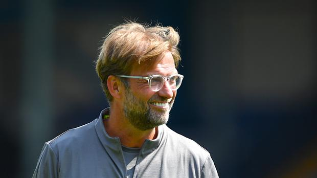 Jurgen Klopp has reasons to be cheerful about Liverpool's start to the Premier League season (Anthony Devlin/PA)