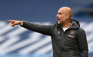 Manchester City manager Pep Guardiola says he is confident the ban will be overturned (Oli Scarff/NMC Pool/PA)