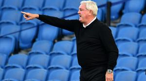 Newcastle head coach Steve Bruce is preparing to head straight into the summer transfer market (Glyn Kirk/NMC Pool/PA)