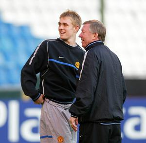 Darren Fletcher came through the Manchester United ranks under Sir Alex Ferguson (Martin Rickett/PA)