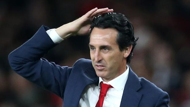 Unai Emery has been sacked by Arsenal (Steven Paston/PA)